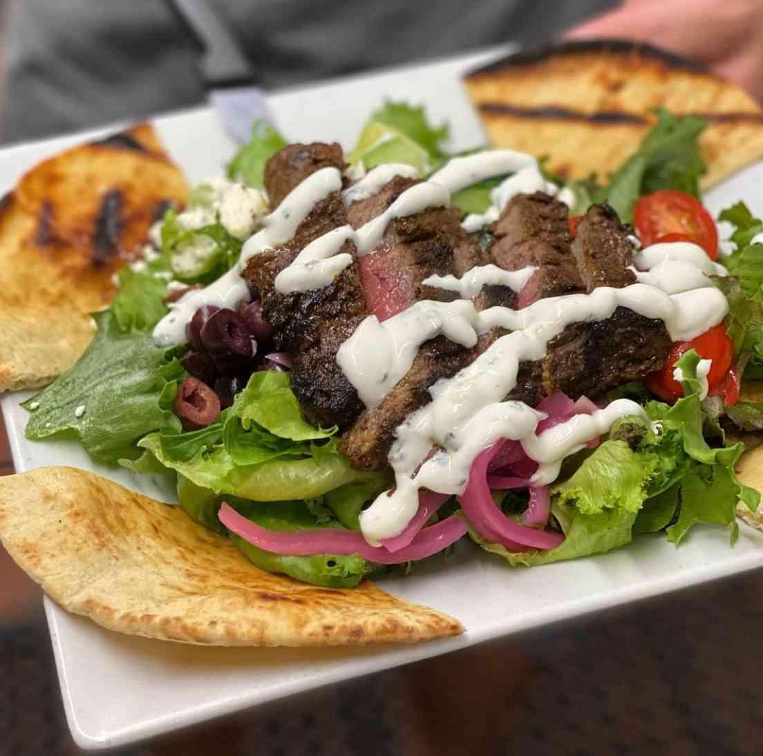 Beef Shawarma Salad