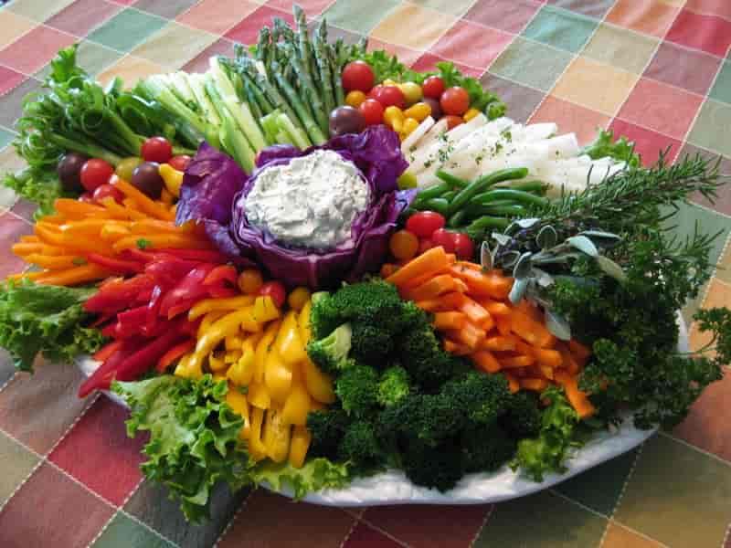 Vegetable Crudites Platter
