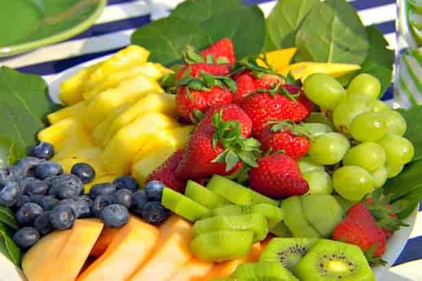 Fresh Sliced Fruit Display Platter