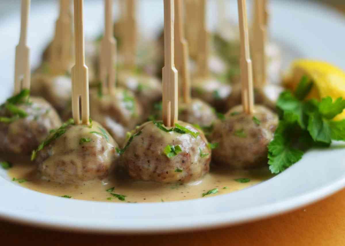 Swedish Meatballs Platter