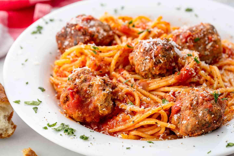 Pm Meatball Spaghetti