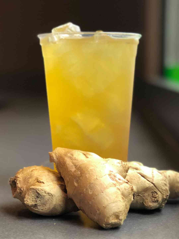Green Chai Ginger Iced Tea