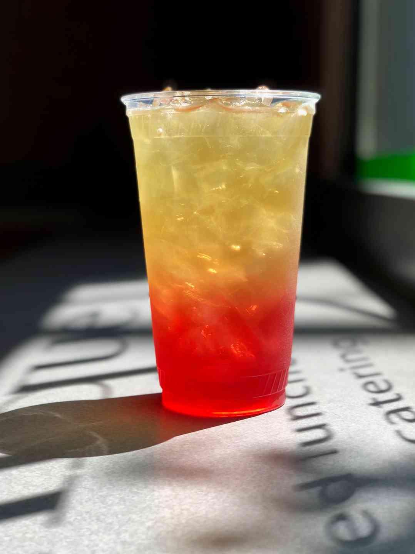 Pomegranate Berry Gradient Iced Tea