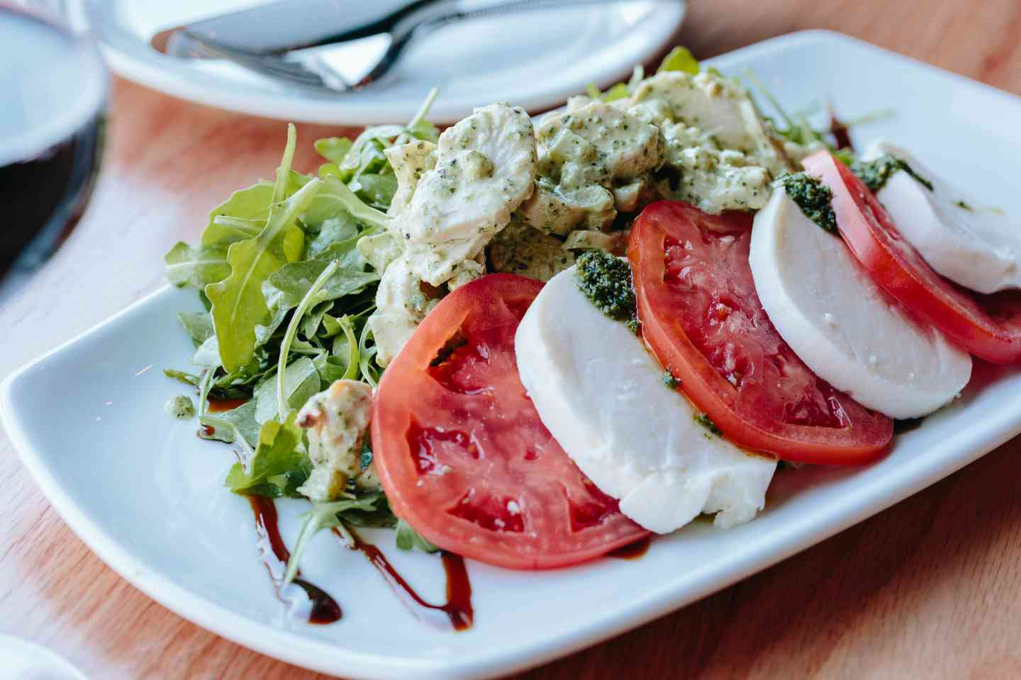 Pesto Chicken Caprese