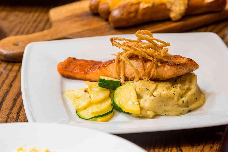 Bourbon Grilled Salmon