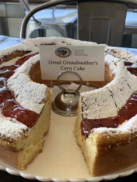 Great Grandmother's Corn Cake