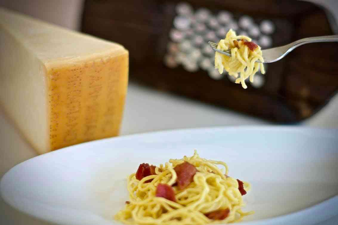 Spaghetti alla Carbonara (BAR MENU)