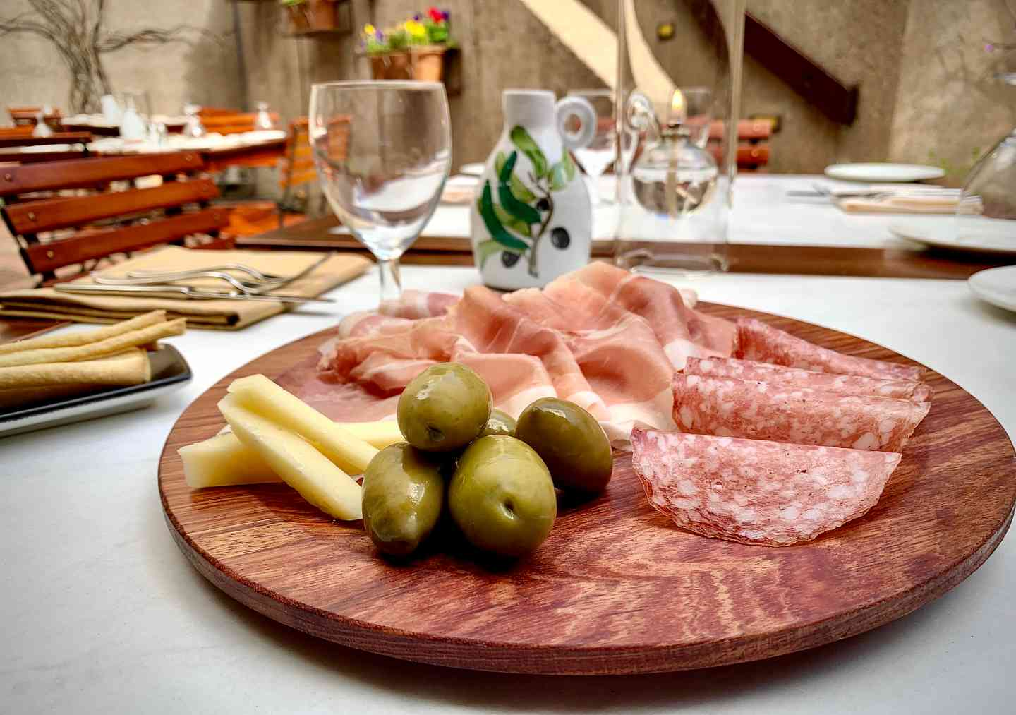 Antipasto dell'Hostaria