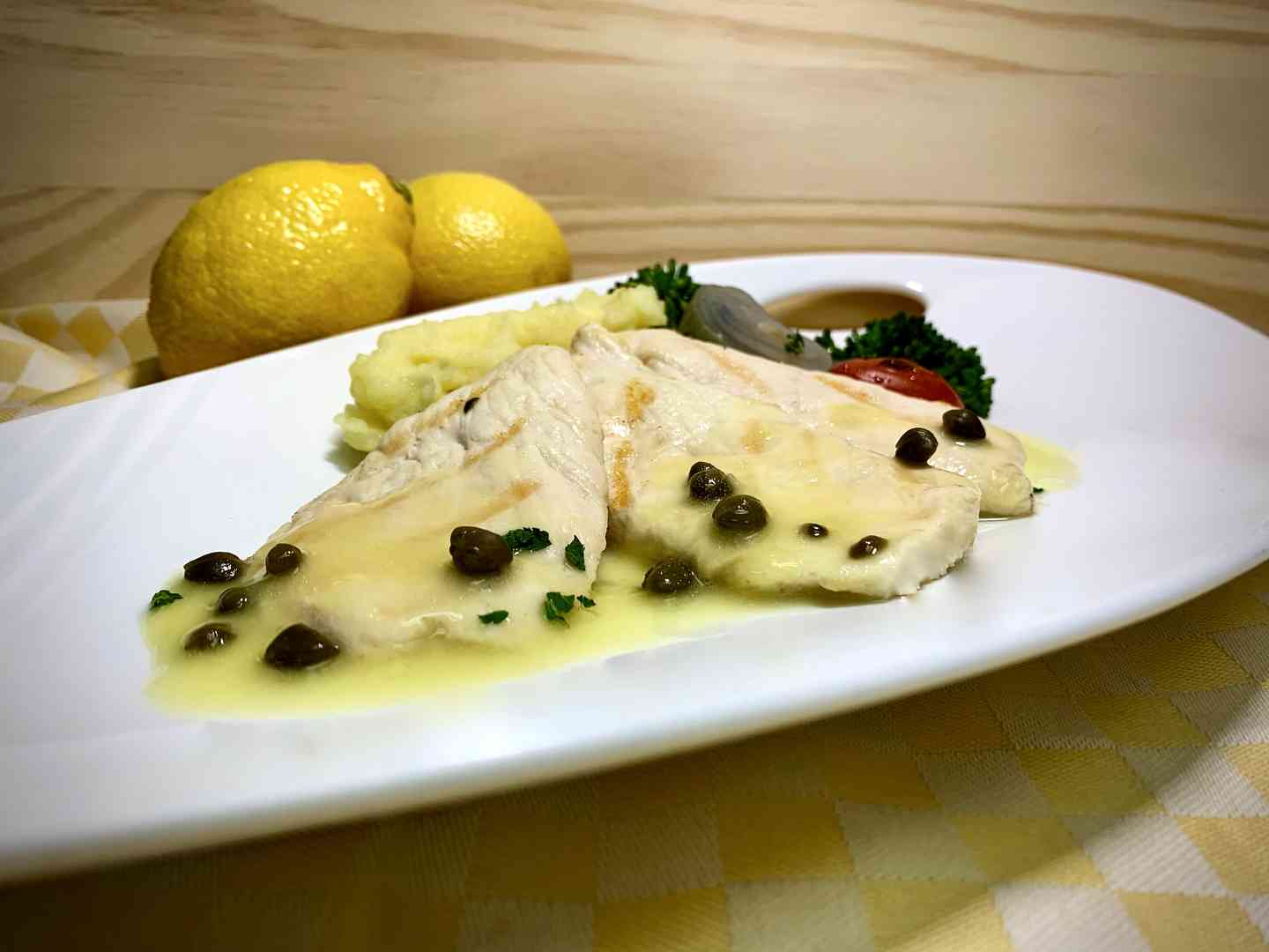 Scaloppine di Pollo (BAR MENU)