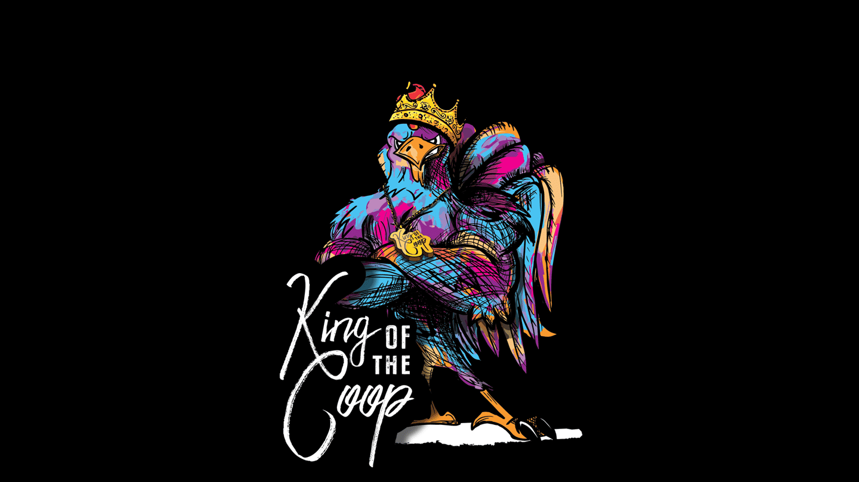 King Of The Coop Branding image
