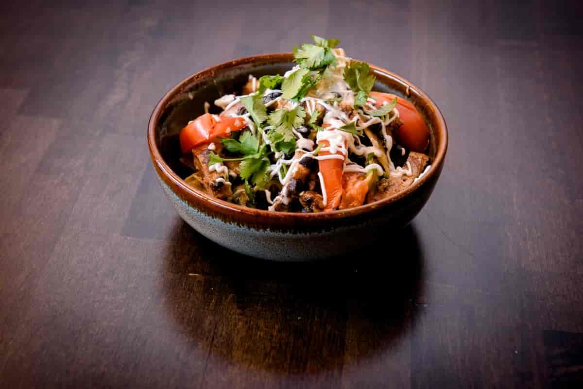Chicken Chilquiles Bowl