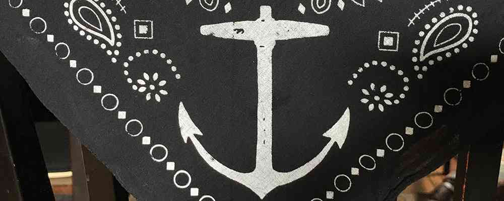 Anchor Bandana