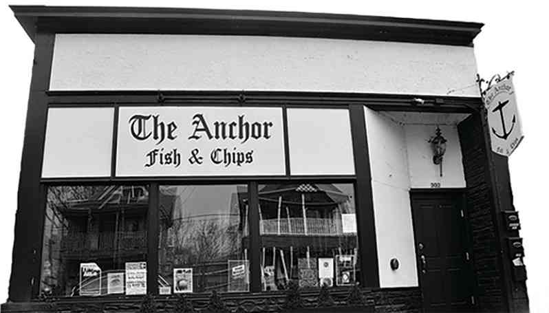 The Anchor Fish & Chips store front