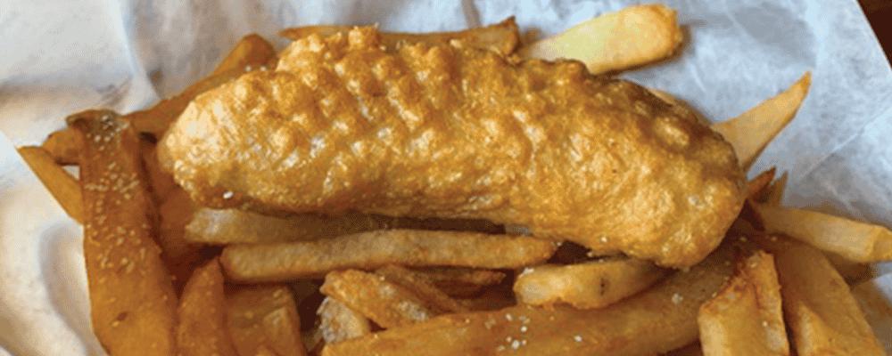 Battered Sausage & Chips