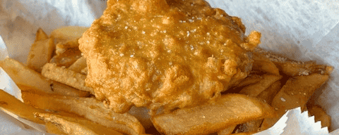 Meat Pastie & Chips