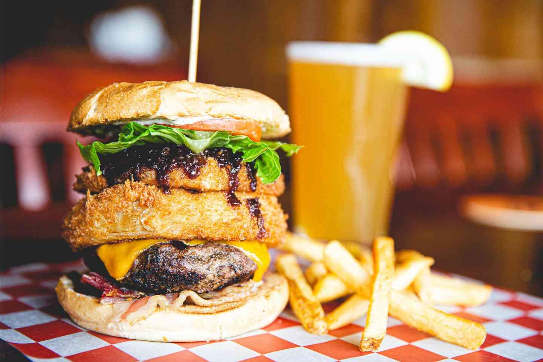 Western Bacon Burger*