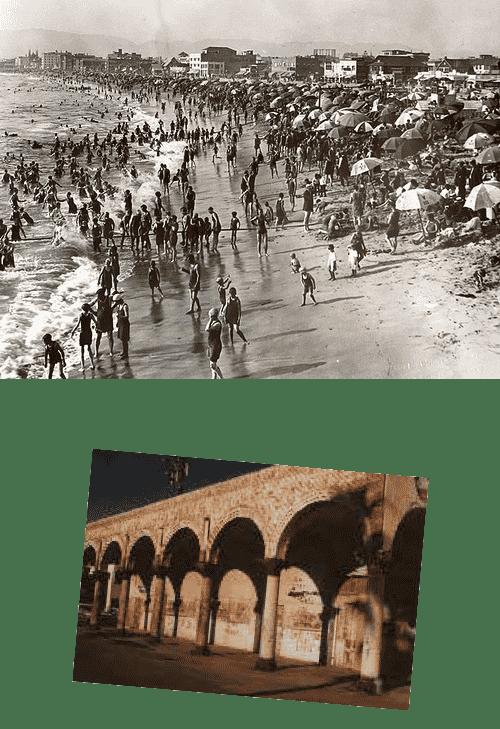 History photos of Venice, California