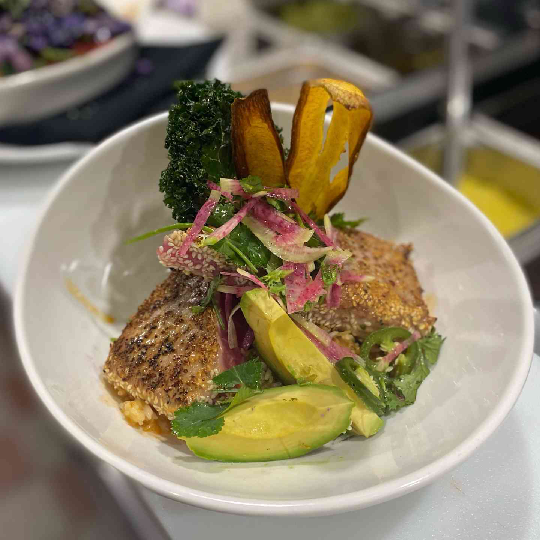 Sesame Seared Tuna Bowl*