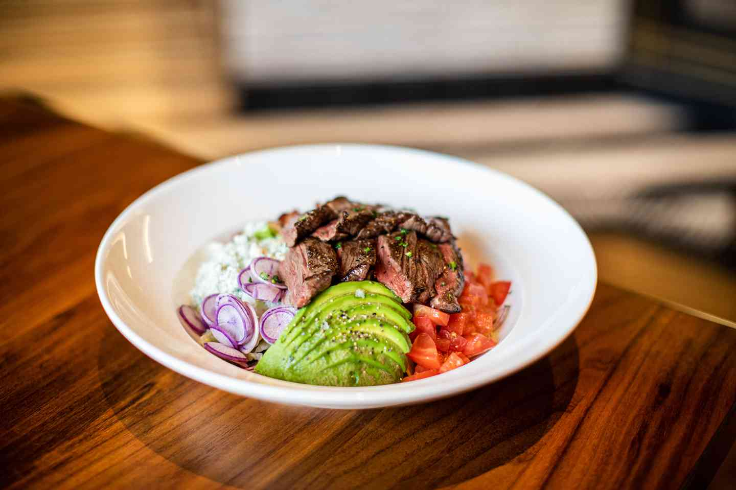 Skirt steak Cobb Salad