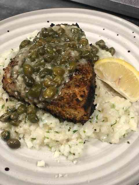 Lemon Caper Swordfish