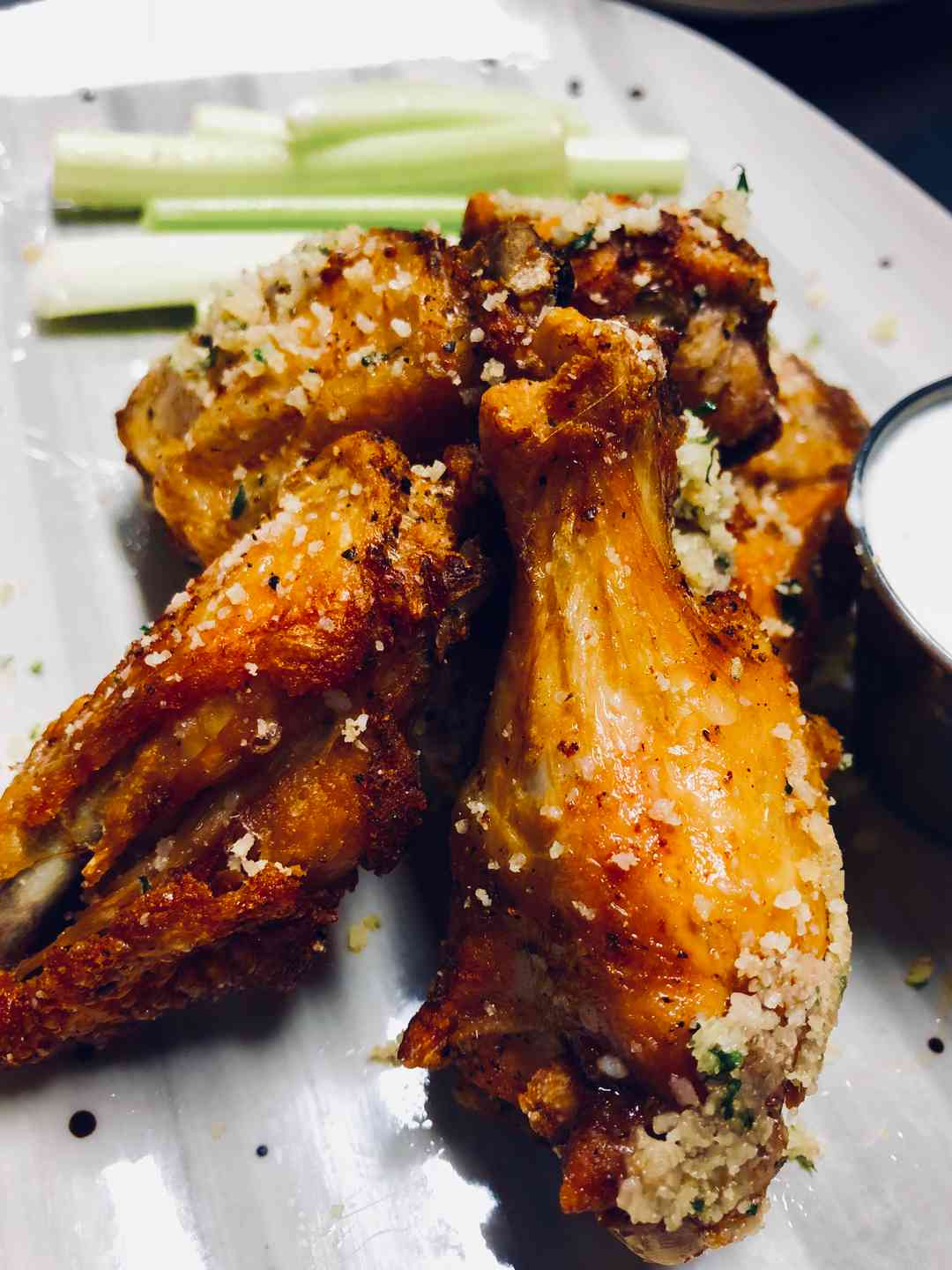 """BFG"" Wings (Brined, Fried and Grilled)"