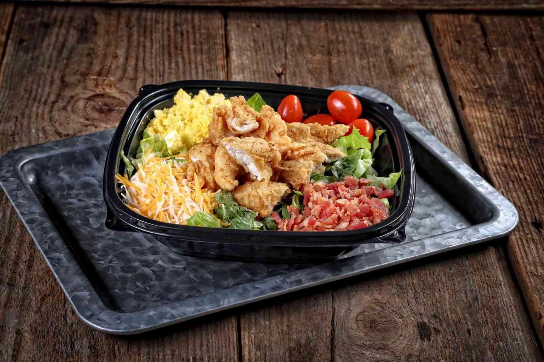 Fried Chicken Finger Salad