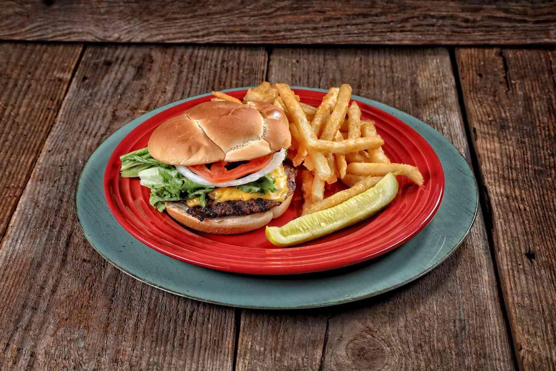 *Rusty's Big Guy Burger Combo