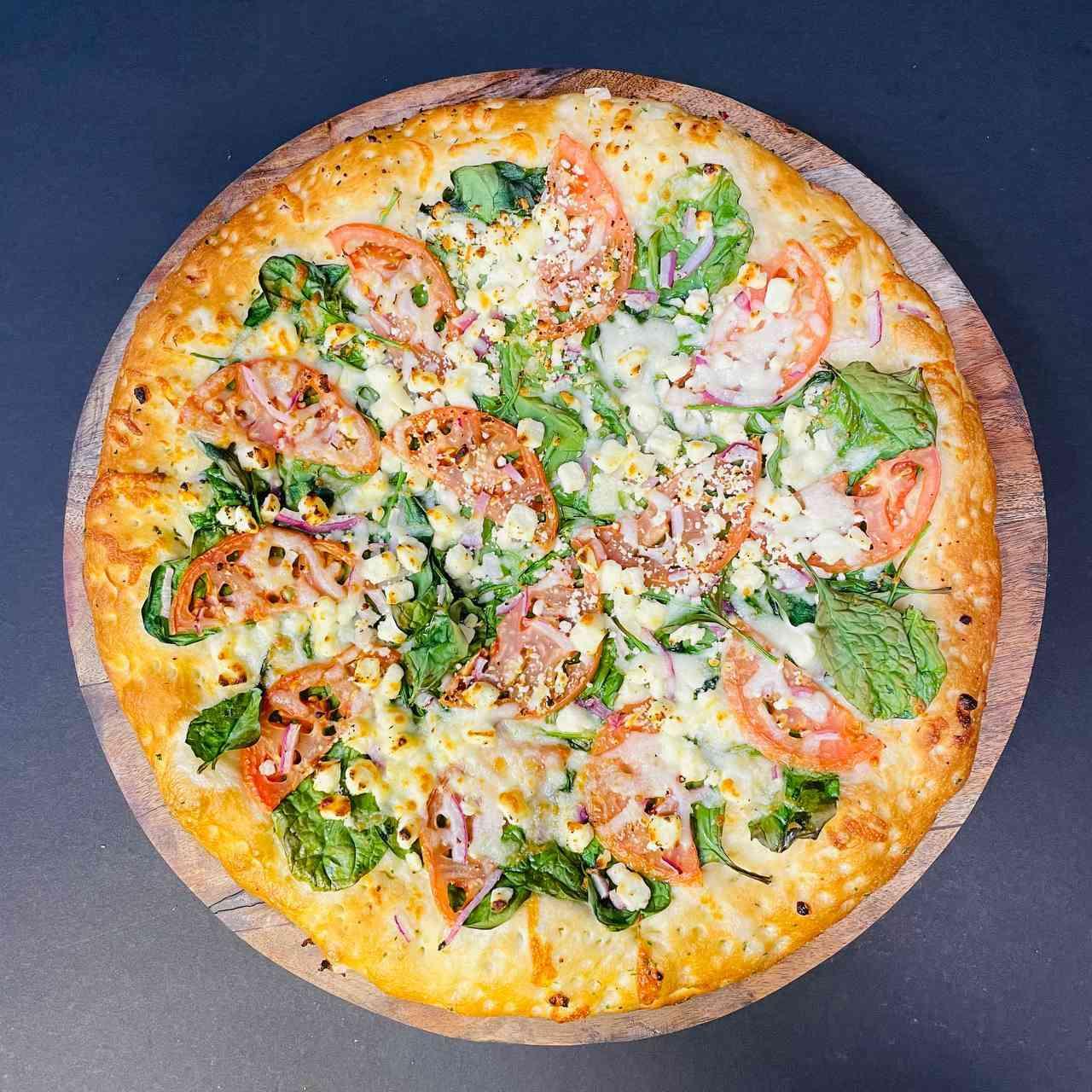 Chef's White Pizza