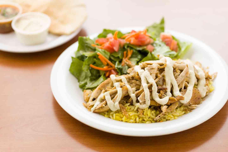 Chicken & Rice Plate