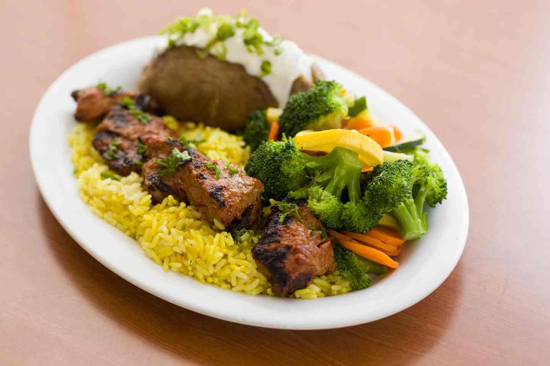 Steak Skewer Plate