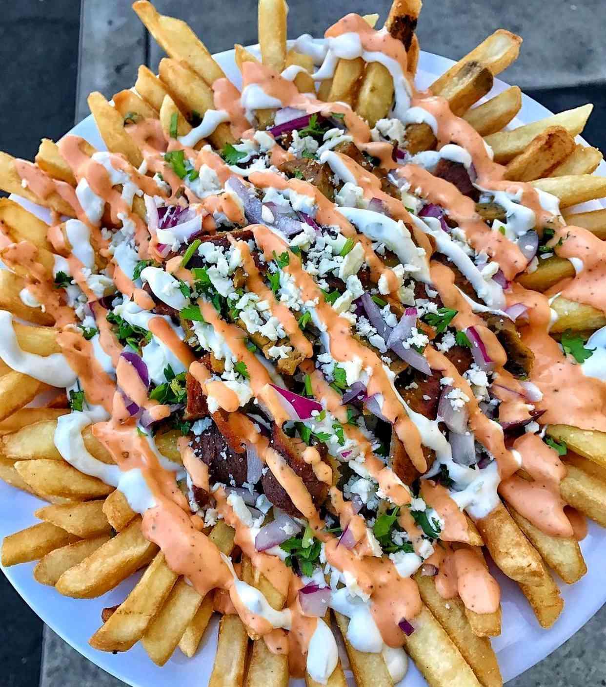 Hypnotic Gyro Fries