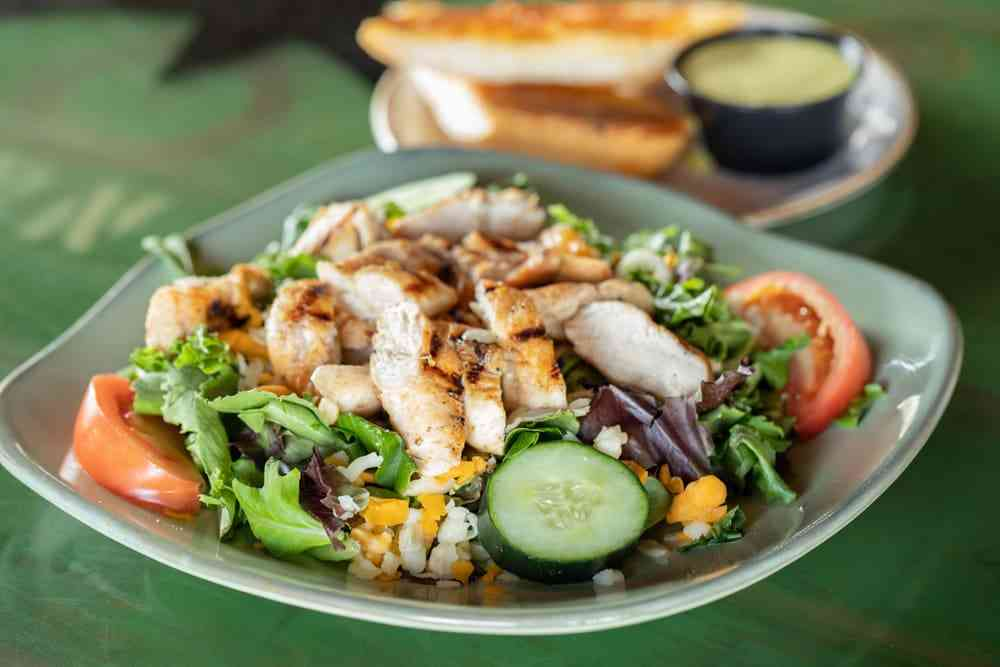 #4. Grilled Chicken Salad Combo