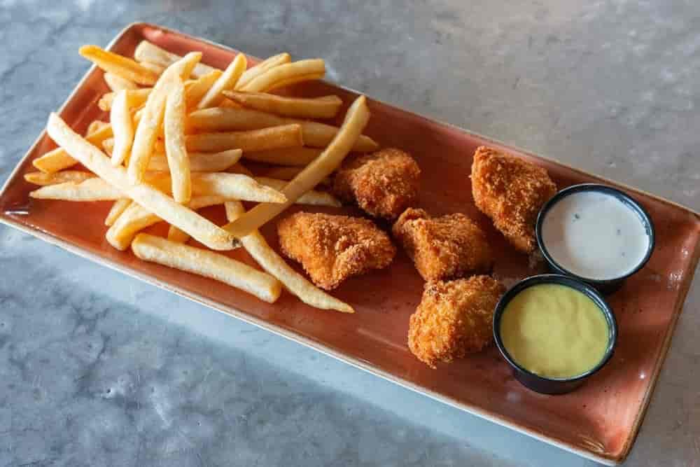 #3. Hand Breaded Chicken Bites Combo