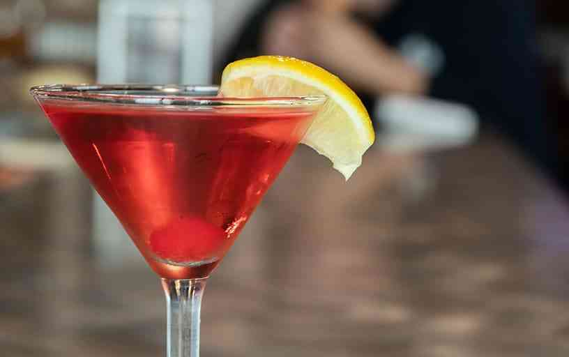 Lemon-Berry Martini