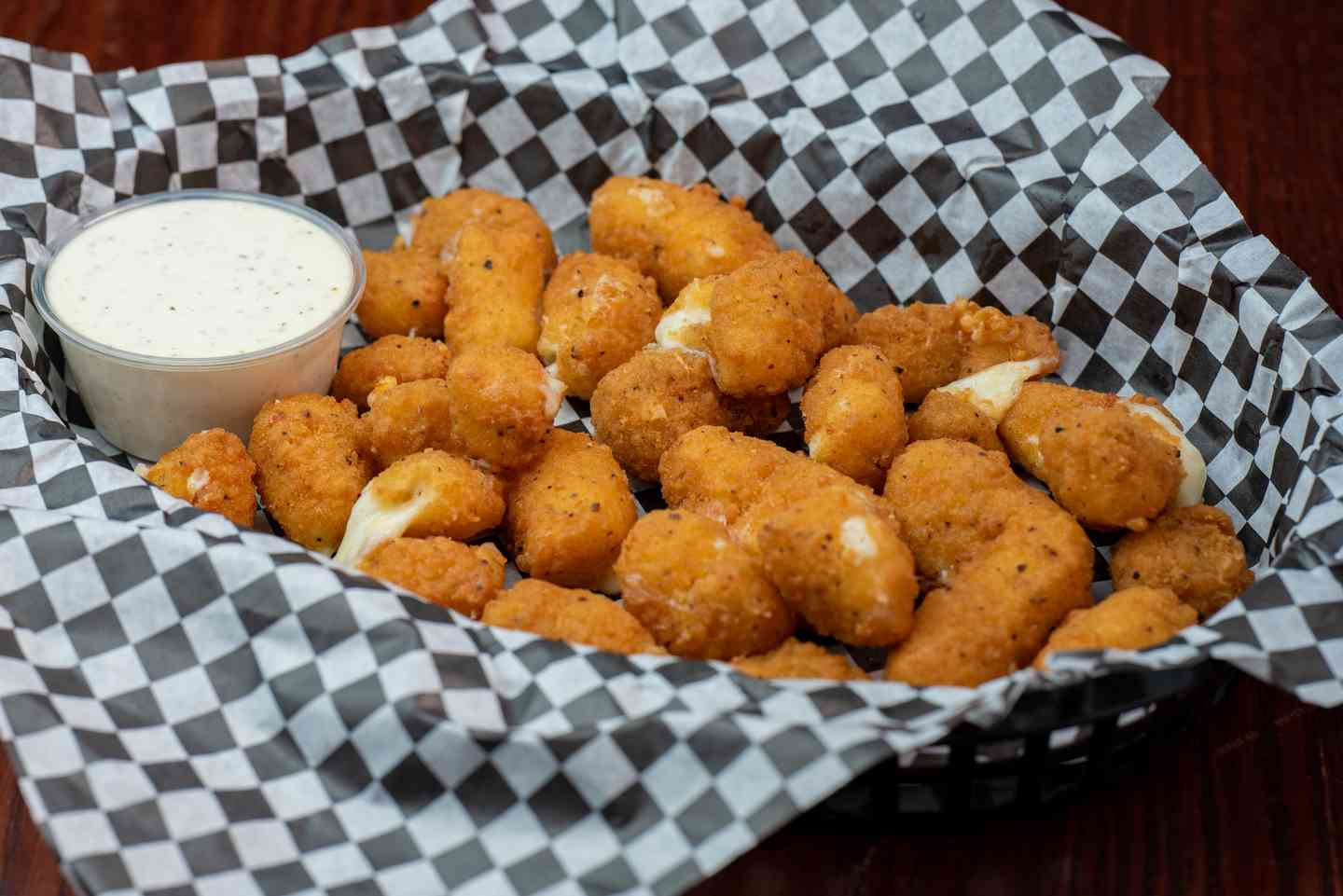 Spicy Cheese Curds**
