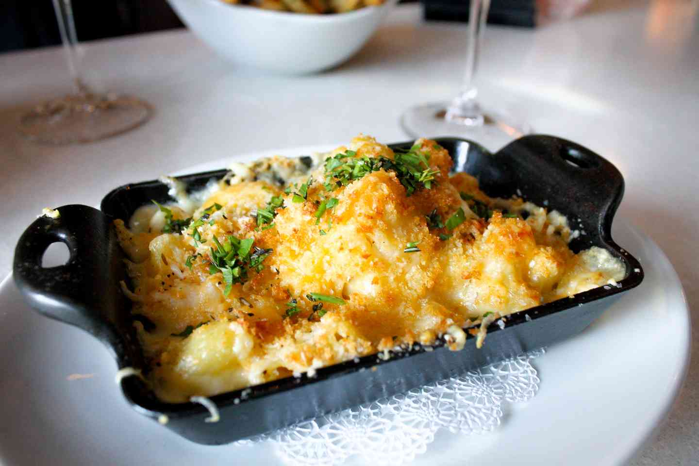 Baked Skillet of Mac and Cheese