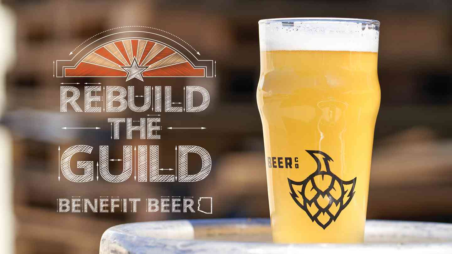 Rebuild The Guild Benefit Beer