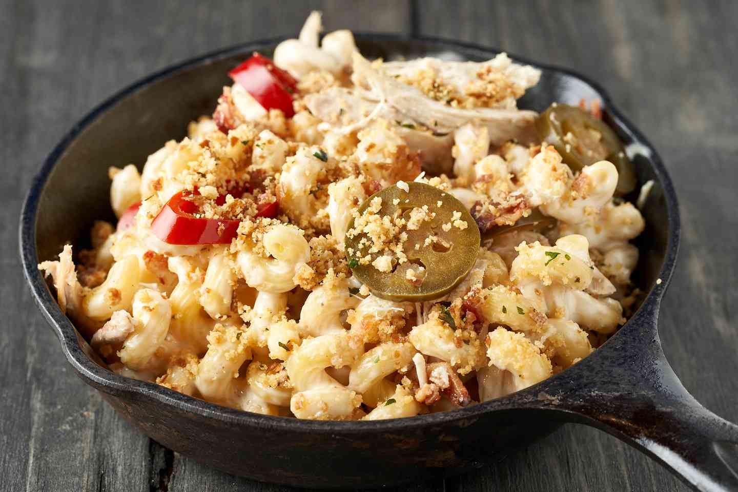 Cast Iron Macaroni and Cheese