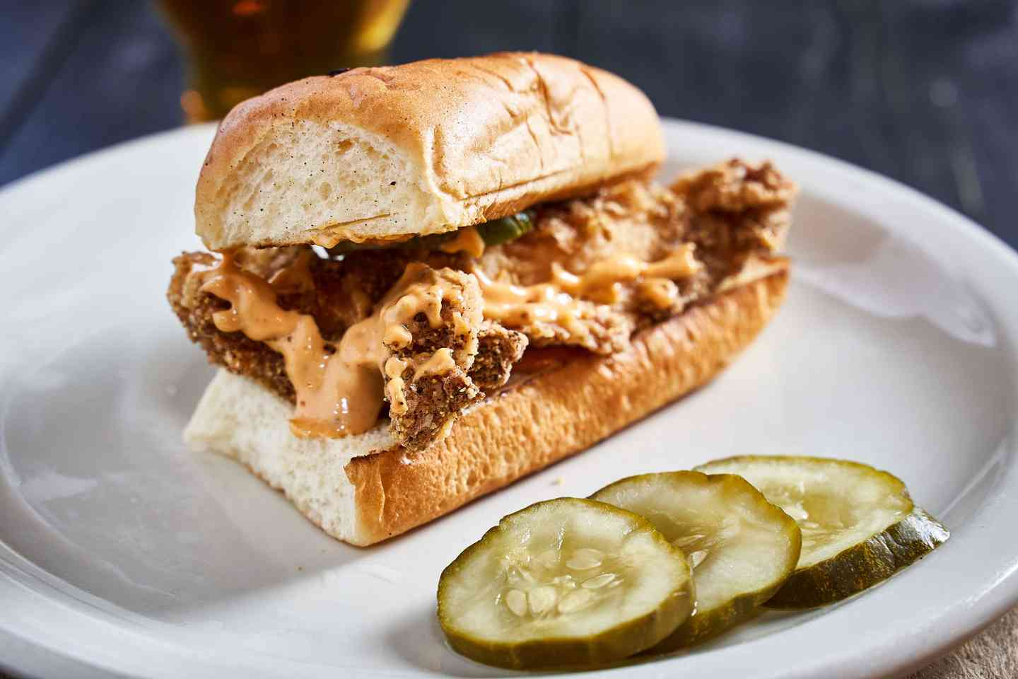 Southern Fried Chicken Slider