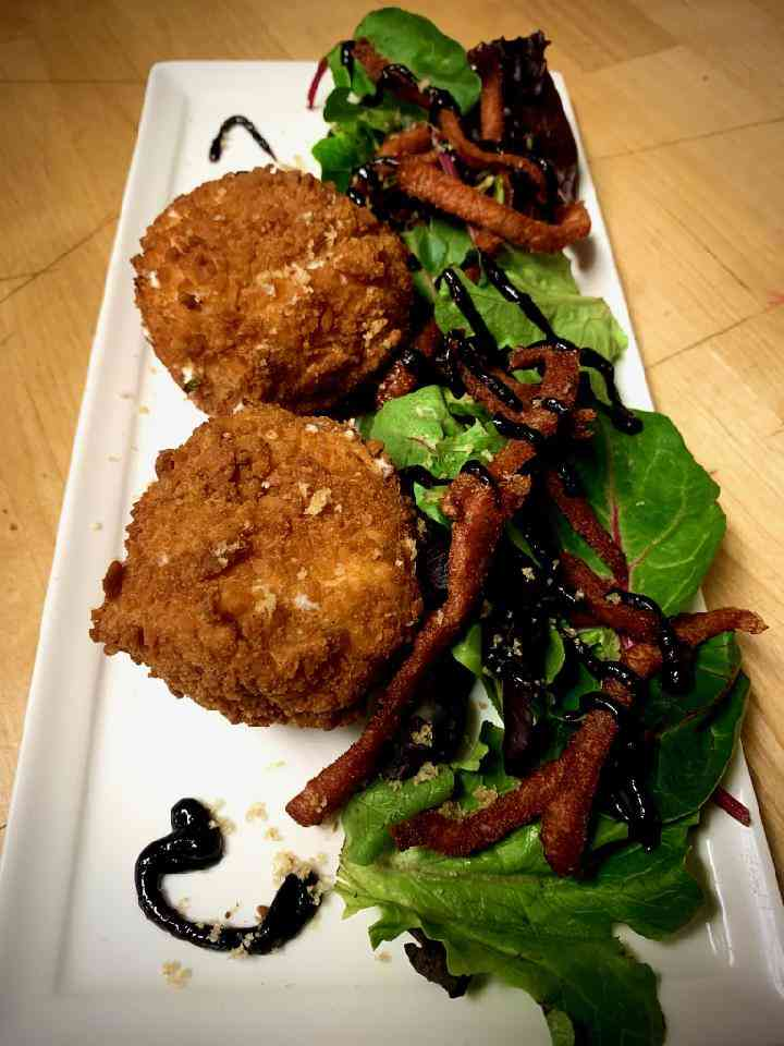 Goat Cheese Croquette Plate