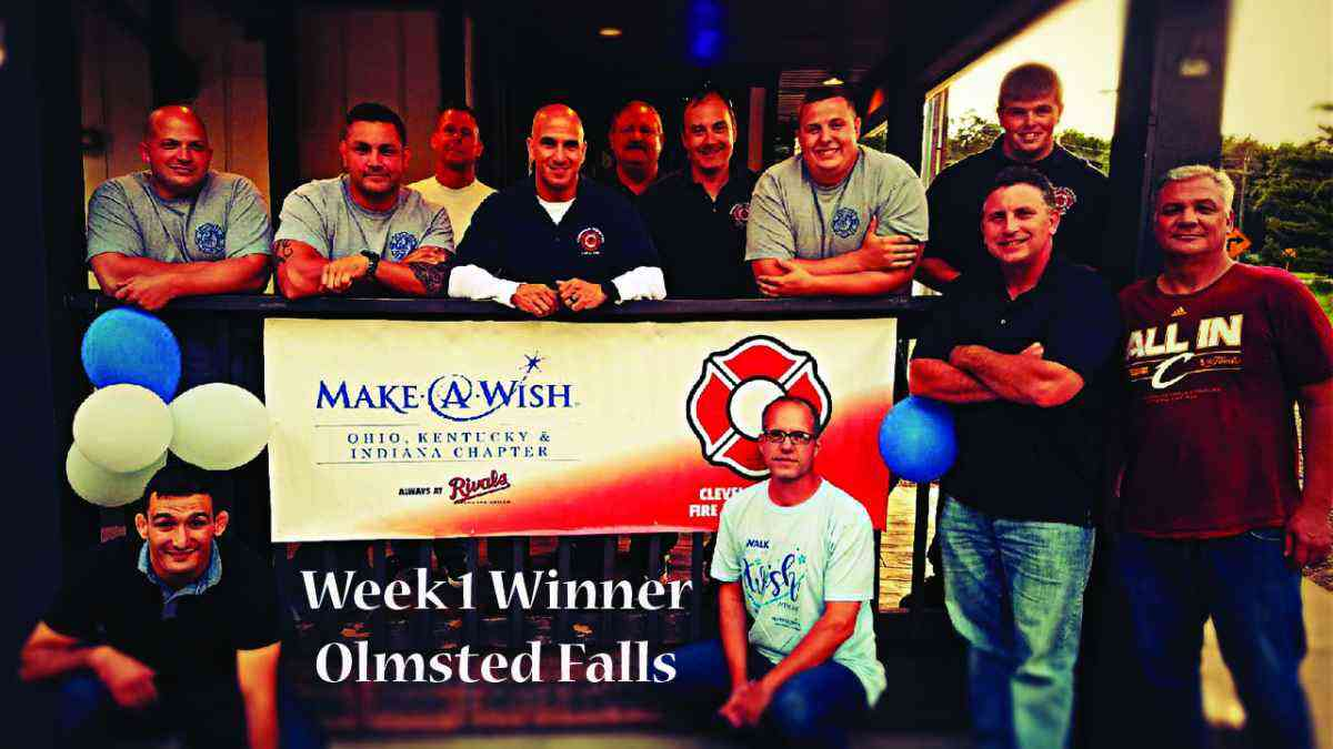 people with make-a-wish sign
