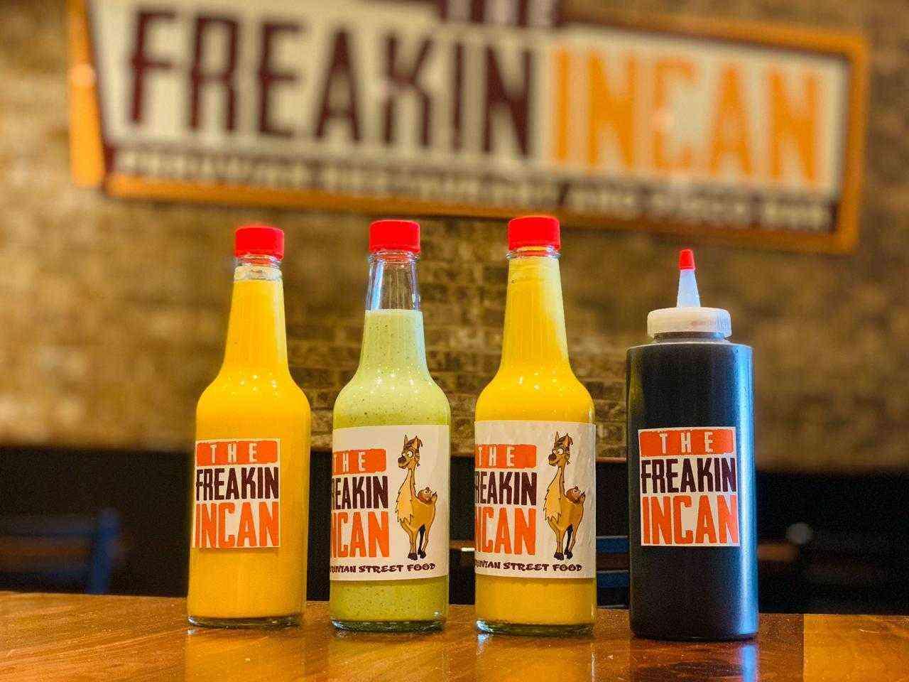 Freakin Incan Sauces