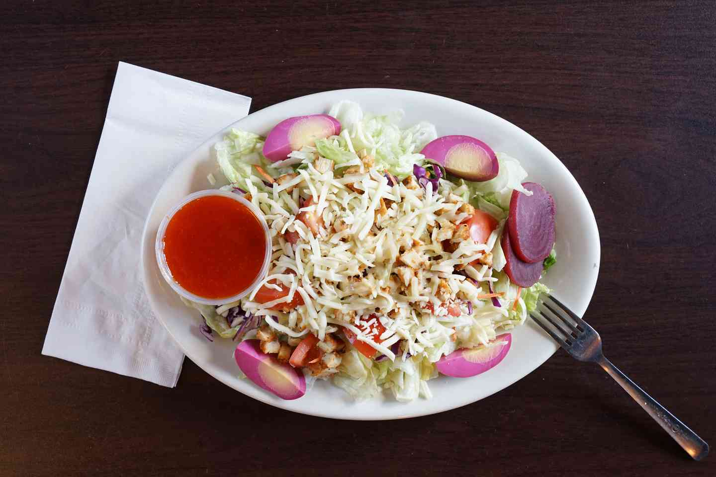 Grilled Chicken Chef Salad