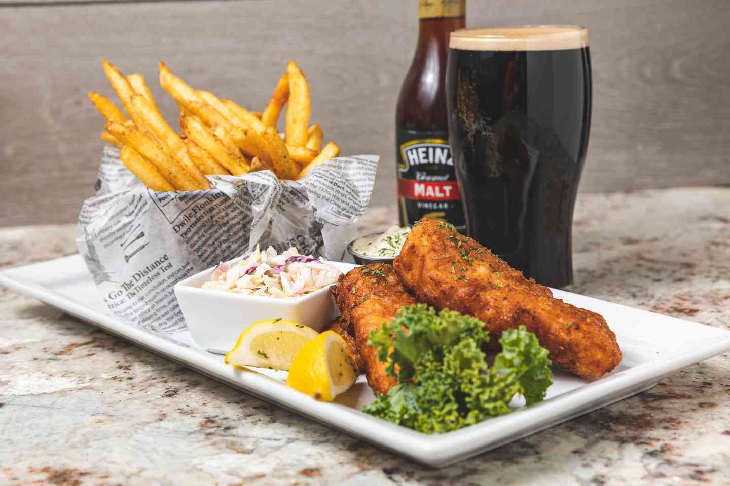 Guinness Fish & Chips