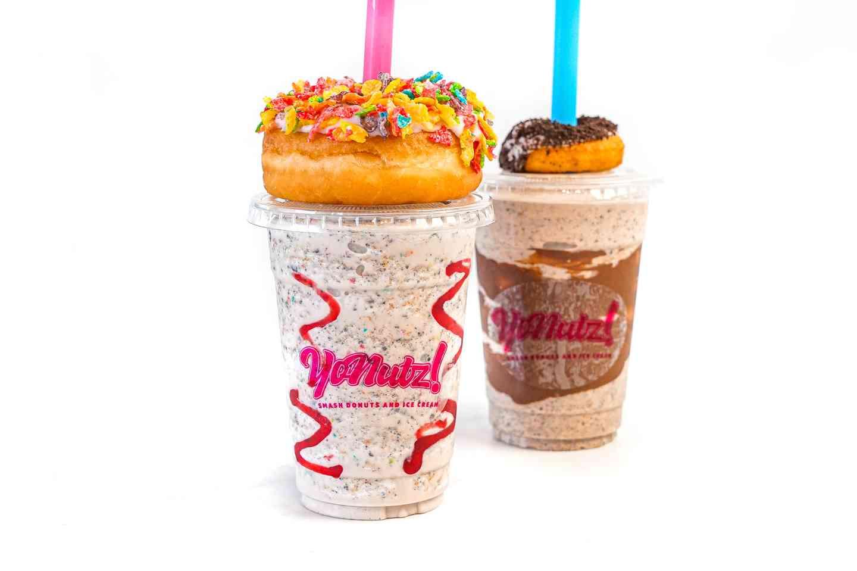 Donut shakes