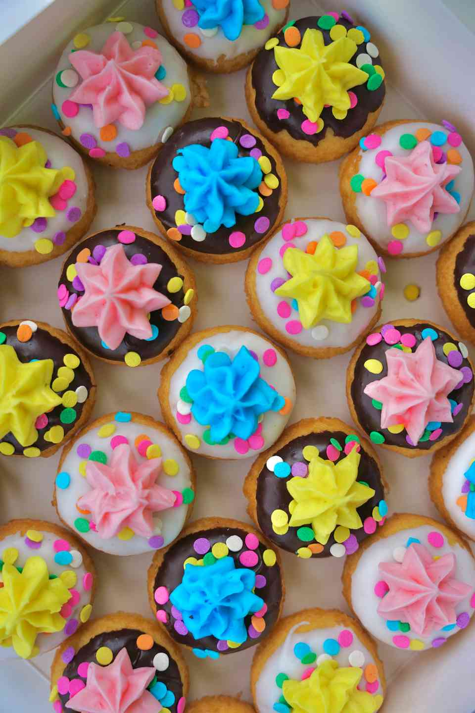 Birthday Assortment Mini Donut Box