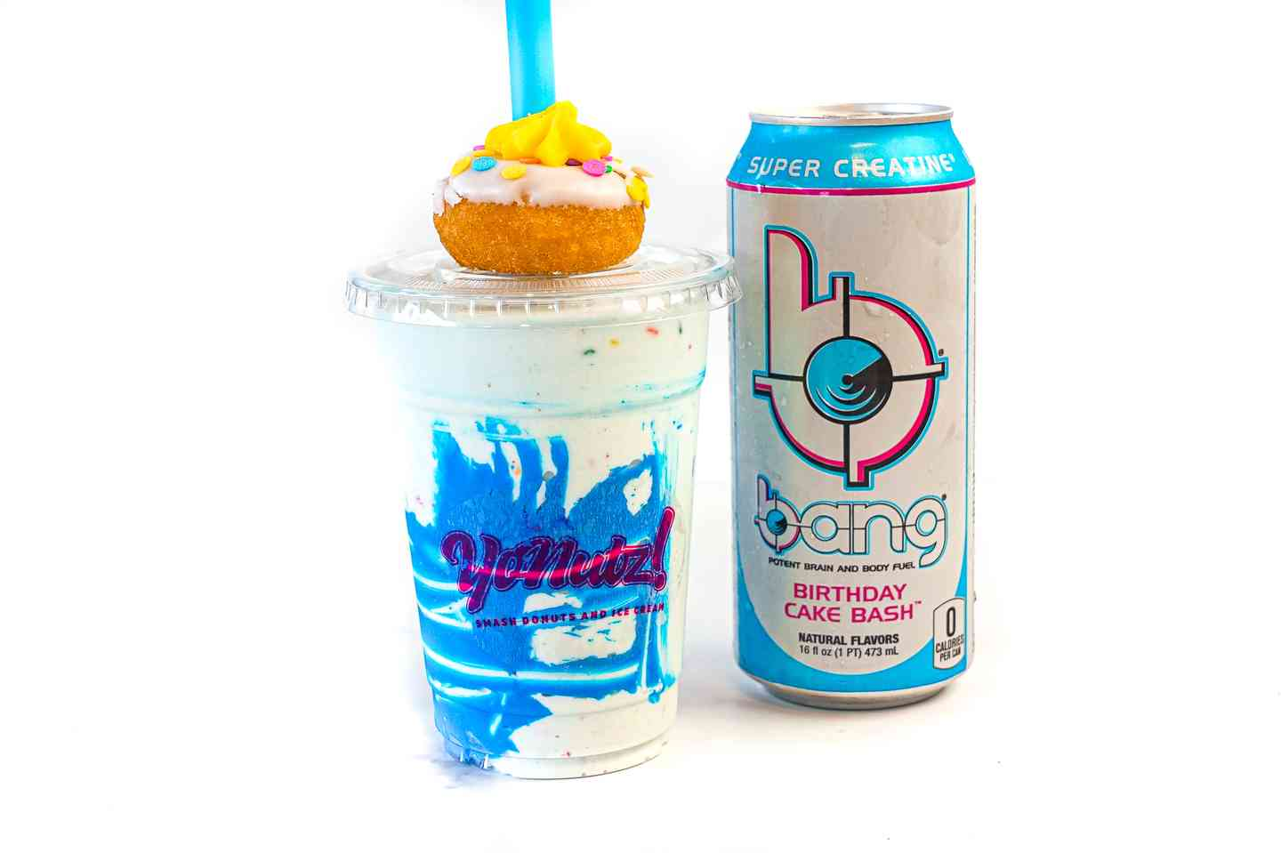 Birthday Bang Energy® SMASH Milkshake
