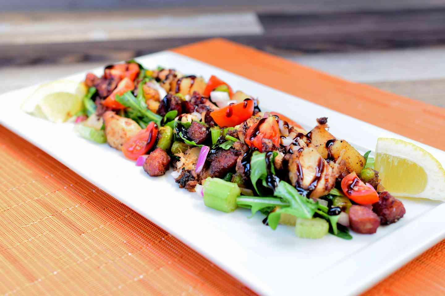 Grilled Spanish Octopus Salad
