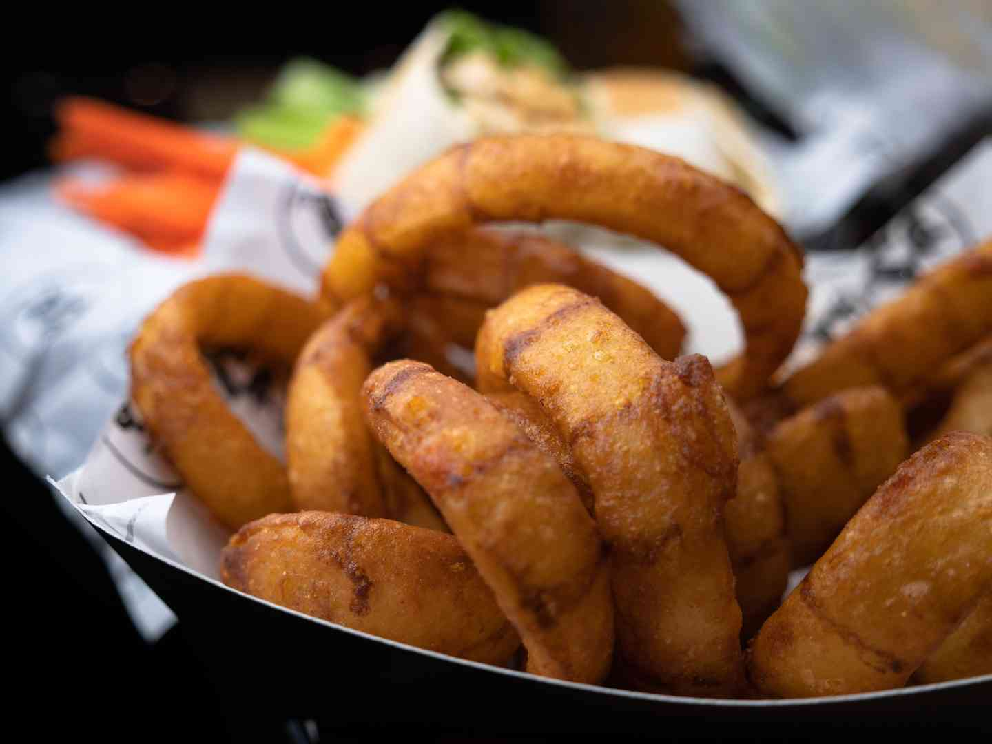 Black & Tan Onion Rings