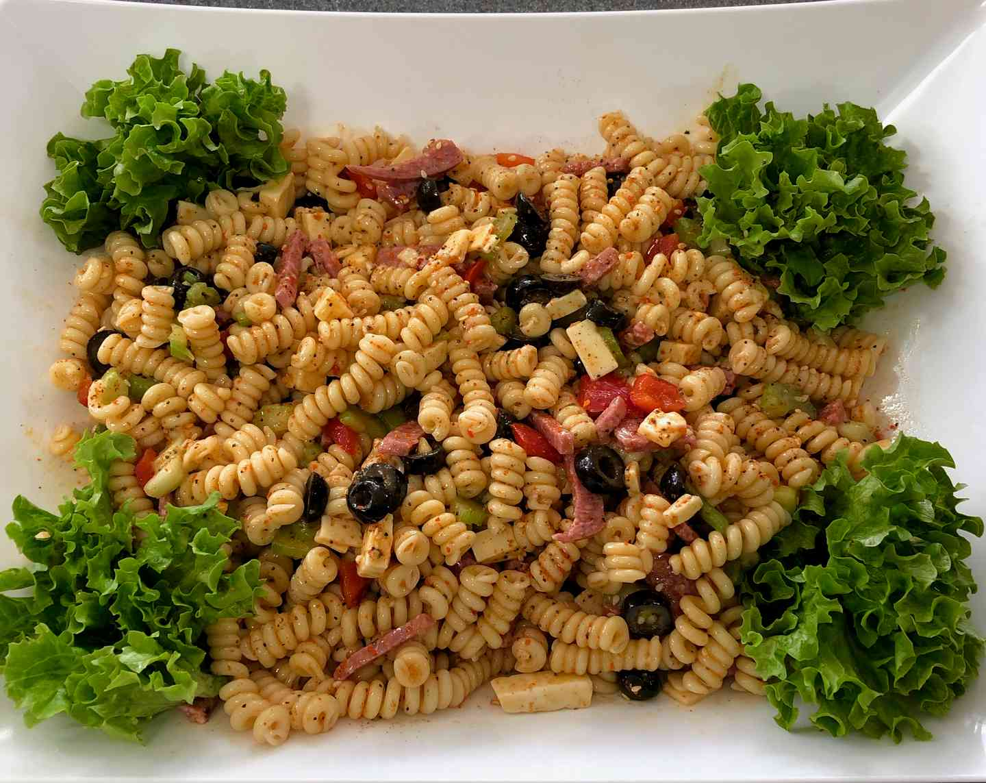 Large Macaroni Salad